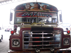 Panama Red Devil Bus